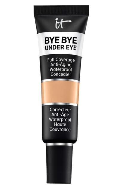 It Cosmetics Bye Bye Under Eye Anti-aging Waterproof Concealer, 0.4 oz In 25.0 Medium Natural N