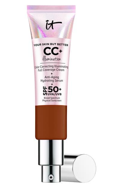 It Cosmetics Cc+ Cream Illumination Spf 50+ In Deep