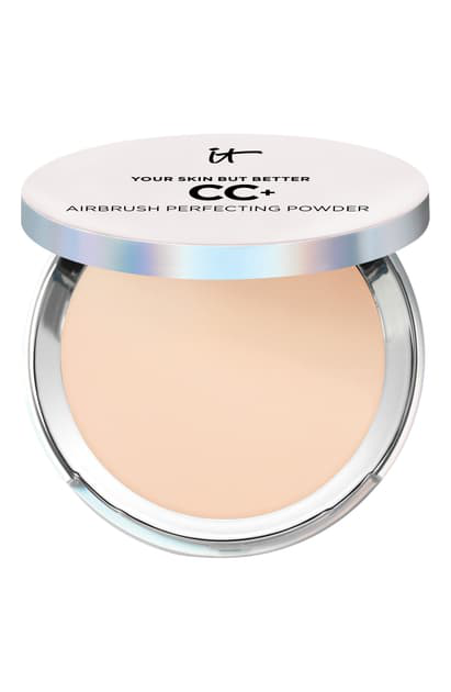 It Cosmetics Your Skin But Better Cc+ Airbrush Perfecting Powder In Light
