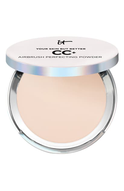 It Cosmetics Your Skin But Better Cc+ Airbrush Perfecting Powder In Fair