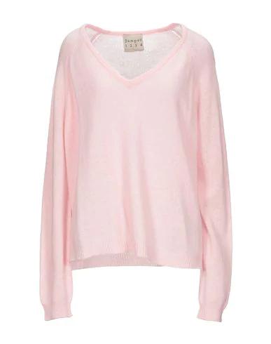 Jumper 1234 Cashmere Blend In Pink