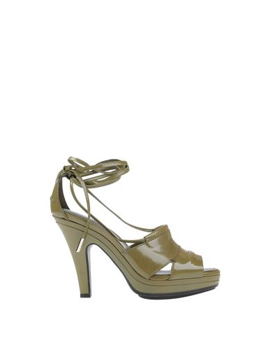 Tod's Sandals In Military Green