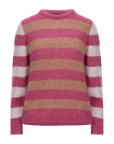 Chiara Bertani Sweater In Fuchsia