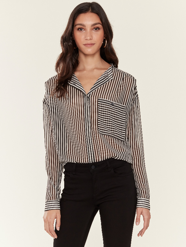 Icons Objects Of Devotion Moderne Blouse - L - Also In: S In Black