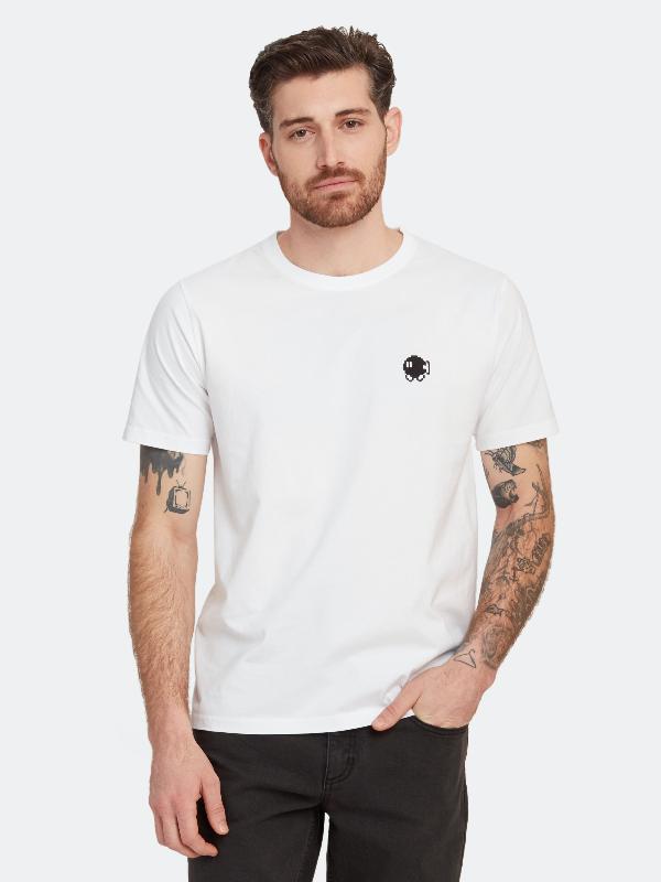 Bricktown Bobomb Crewneck T-shirt - Xl - Also In: S, Xxl, Xs, L, M In White