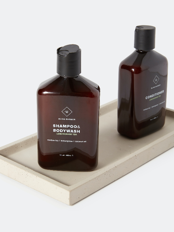 Blind Barber Lemongrass Tea Shampoo + Body Wash