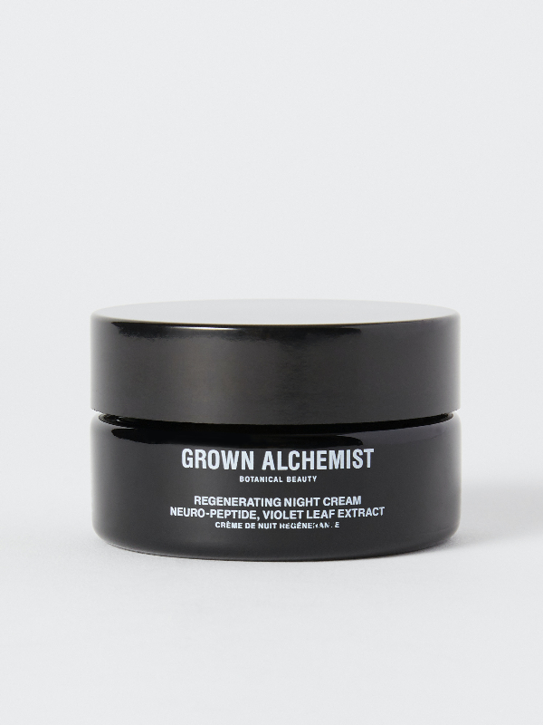 Grown Alchemist Regenerating Night Cream: Neuro-peptide, Violet Leaf Extract