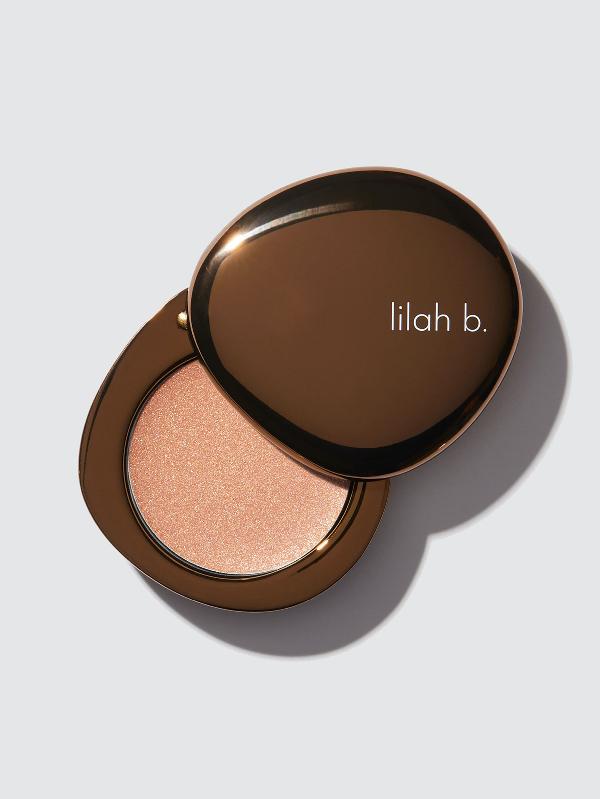 Lilah B Mini Glisten + Glow™ Skin Illuminator In Brown