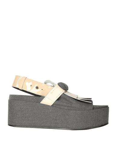 Alysi Sandals In Grey
