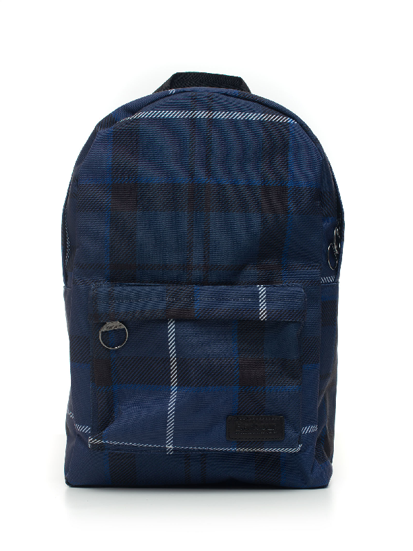 Barbour Baacc2026 Backpack Blue Polyester Man