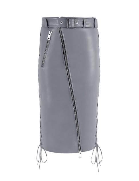 Manokhi Celine Skirt In Blue