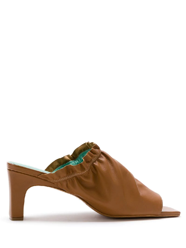 Blue Bird Shoes 'berbere' Mules In Brown