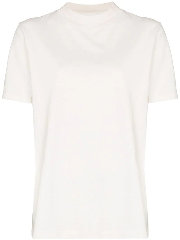 Les Tien High-neck T-shirt In White