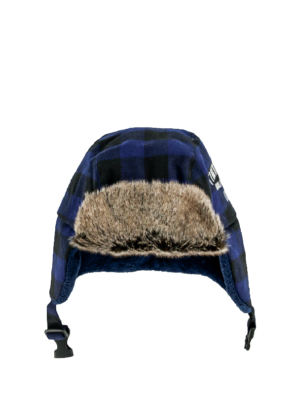 Timberland Kids Beanie For Boys In Blue