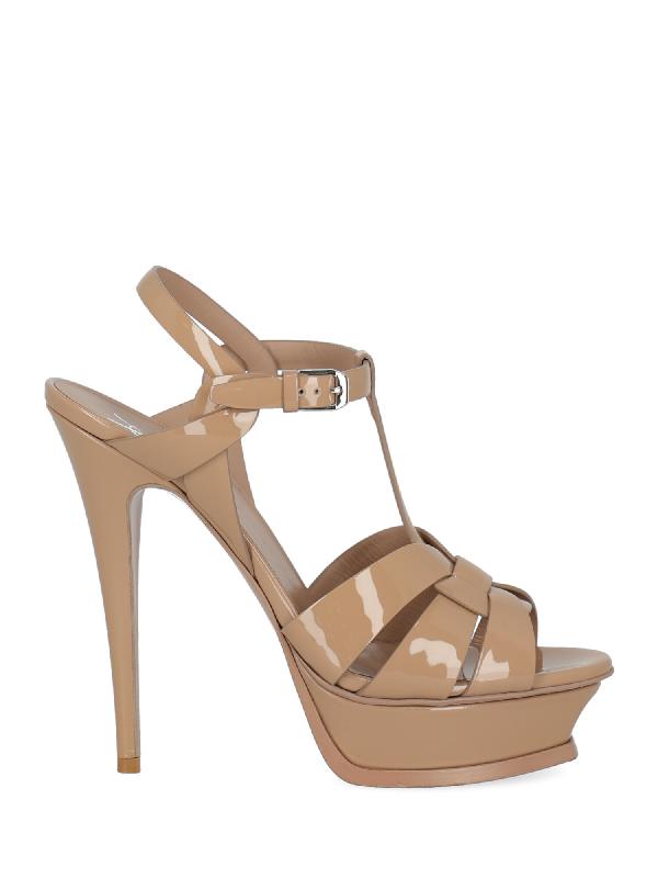 Saint Laurent Shoe In Beige