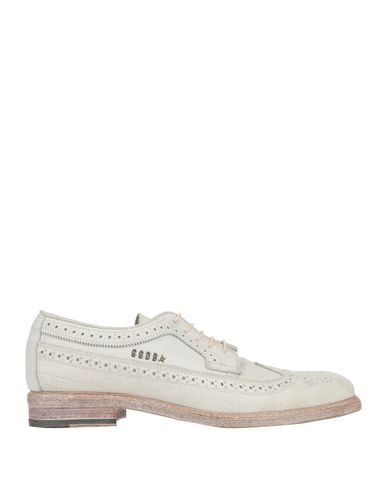 Golden Goose Laced Shoes In Light Grey