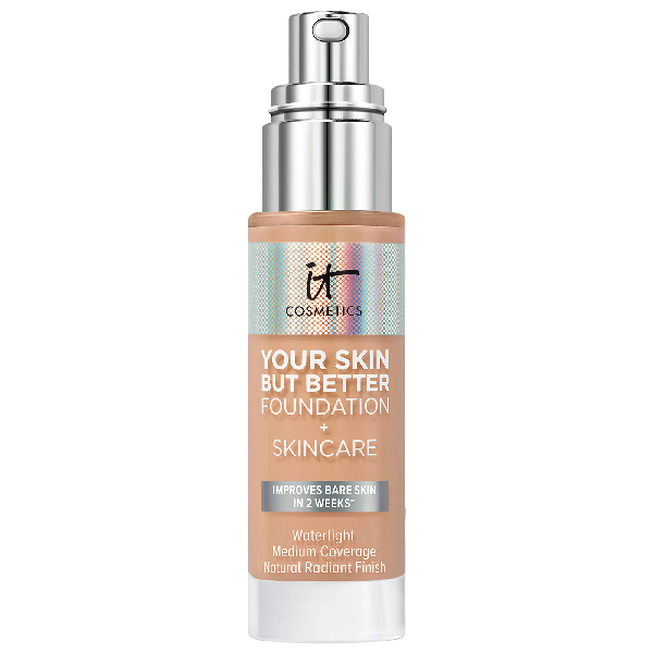 It Cosmetics Your Skin But Better Foundation + Skincare Medium Neutral 33 1 oz/ 30 ml
