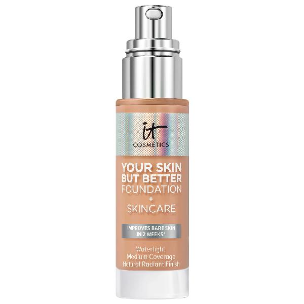 It Cosmetics Your Skin But Better Foundation + Skincare Medium Cool 34 1 oz/ 30 ml