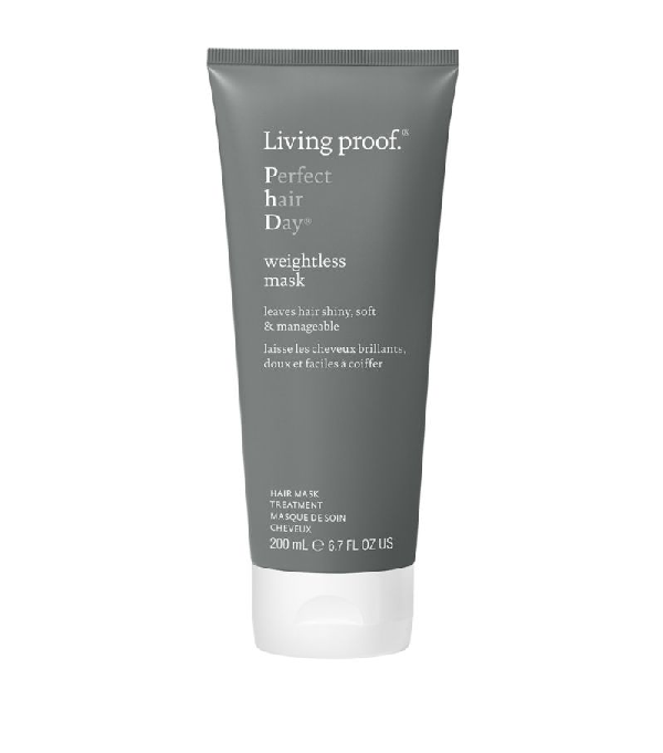 Living Proof Phd Weightless Hair Mask (200ml) In White
