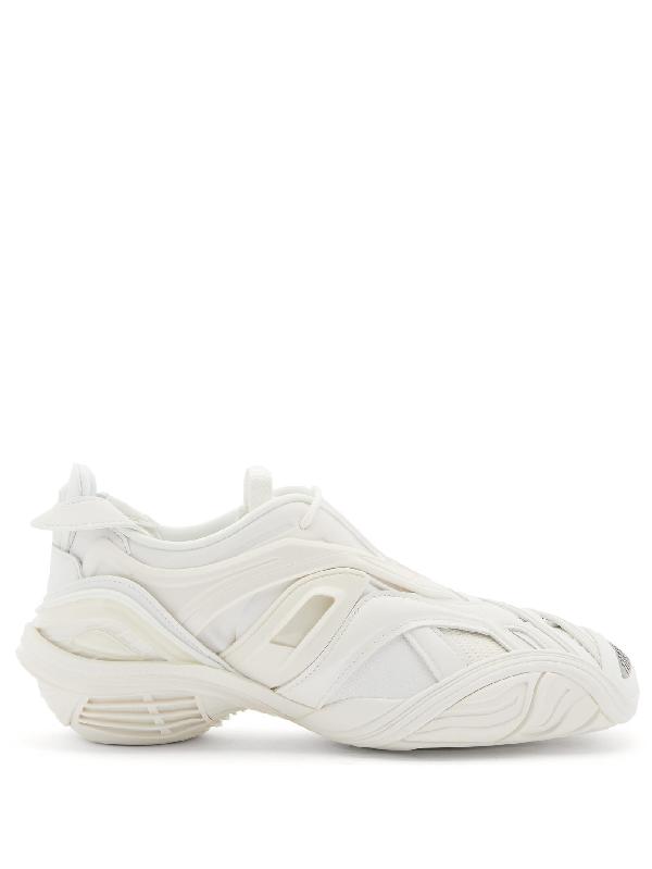 Balenciaga White Tyrex Low Top Sneakers