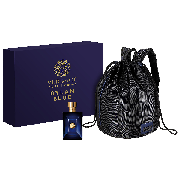 Versace Dylan Blue Pour Homme Backpack Set
