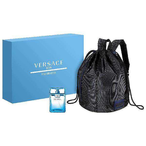 Versace Eau Fraiche Backpack Set