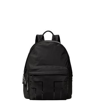 Tory Sport Nylon Graphic-t Backpack In Sport Black