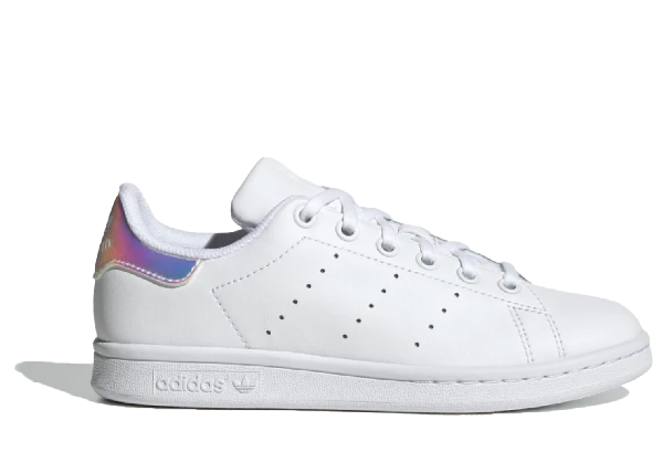 Adidas Originals Adidas Stan Smith Cloud White (gs) In Cloud White/cloud White/core Black