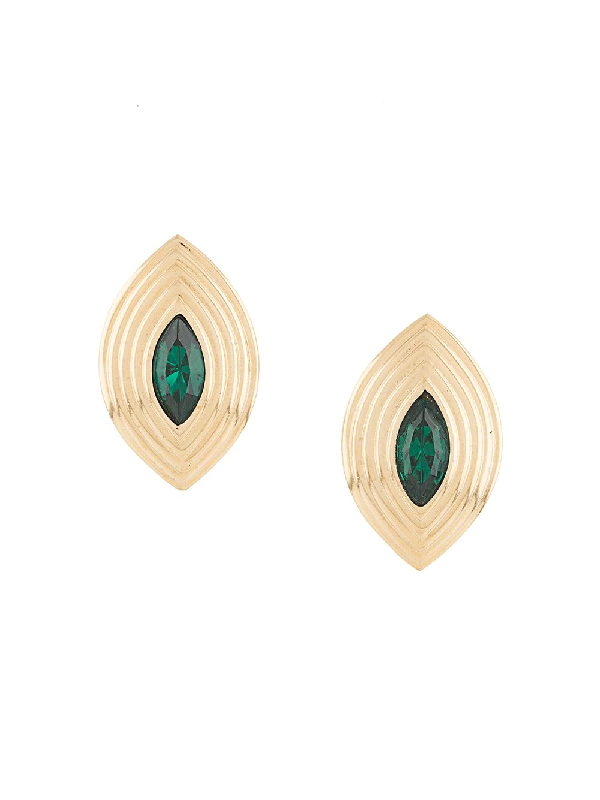 Givenchy 1980s Clip-on Earrings In Gold