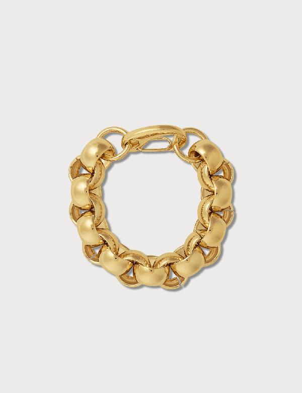 Laura Lombardi Luna Chain Bracelet In Gold