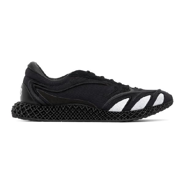 Y-3 Black Runner 4d Sneakers In Black Ftwr