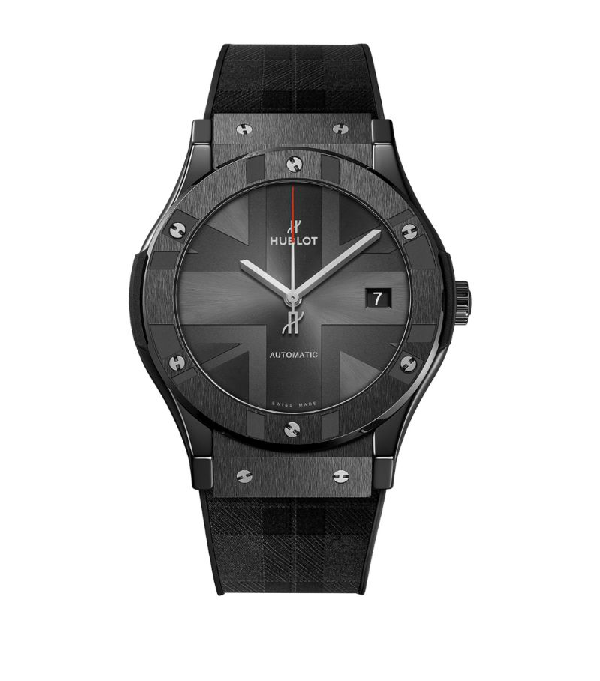 Hublot Ceramic Classic Fusion London Watch 45mm