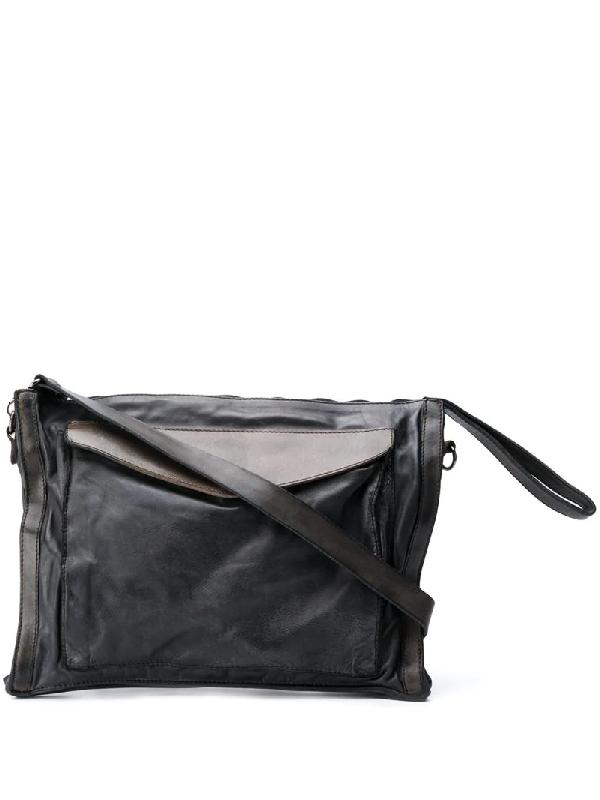 Numero 10 Cruze Tarnished Bag In Black