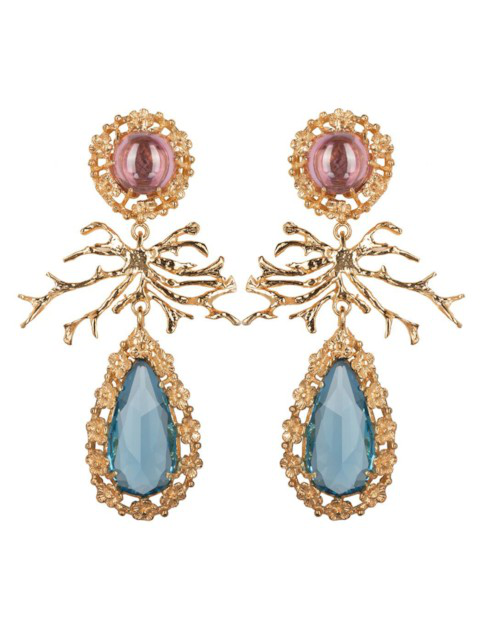 Christie Nicolaides Camile Earrings Blue