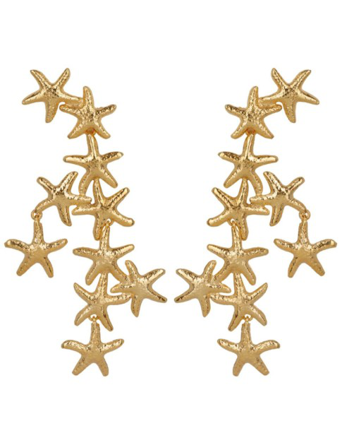 Christie Nicolaides Salacia Earrings Gold