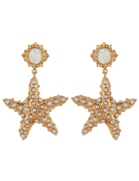 Christie Nicolaides Sofia Earrings Pearl In Gold