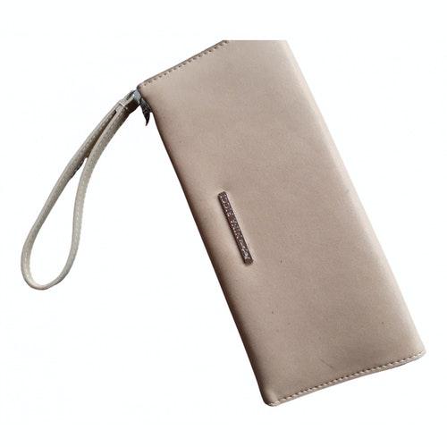 Nina Ricci Beige Leather Travel Bag