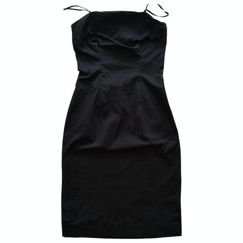 Tommy Hilfiger Black Cotton Dress