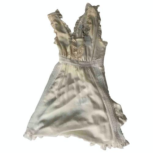 Claudie Pierlot Spring Summer 2019 Ecru Dress