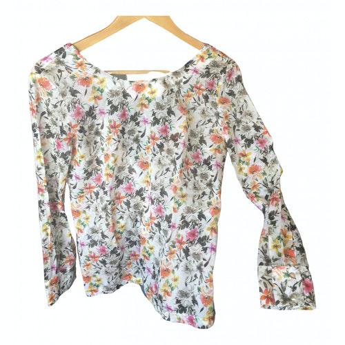 Roseanna Multicolour Cotton  Top