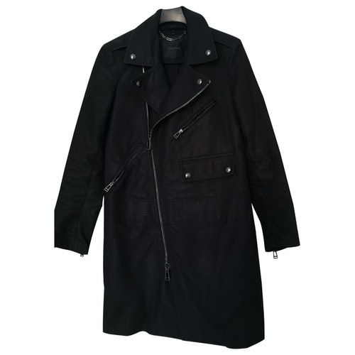 Belstaff Blue Cotton Trench Coat