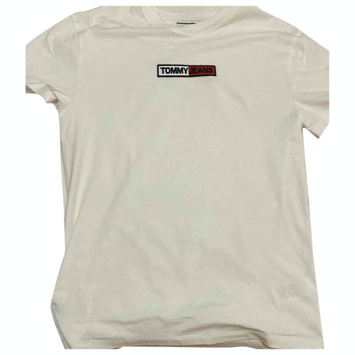 Tommy Hilfiger White Cotton  Top