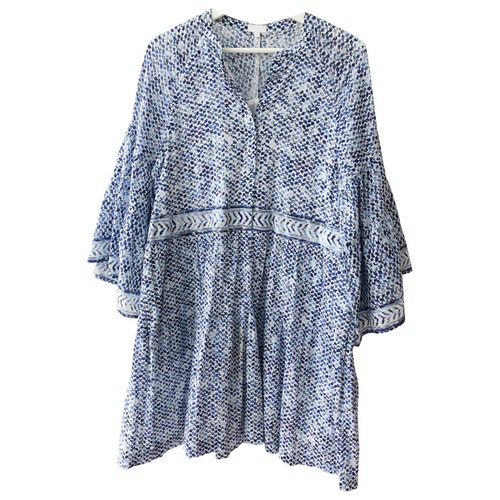 Lala Berlin Blue Cotton Dress