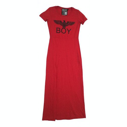 Boy London Red Cotton Dress