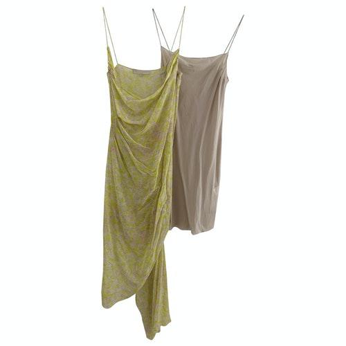 Vanessa Bruno Yellow Silk Dress