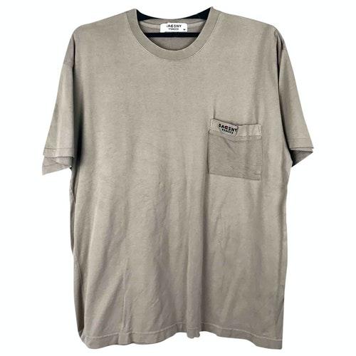 Y's Beige Cotton T-shirts