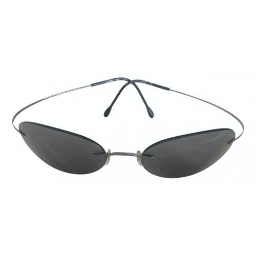 Silhouette Metallic Metal Sunglasses