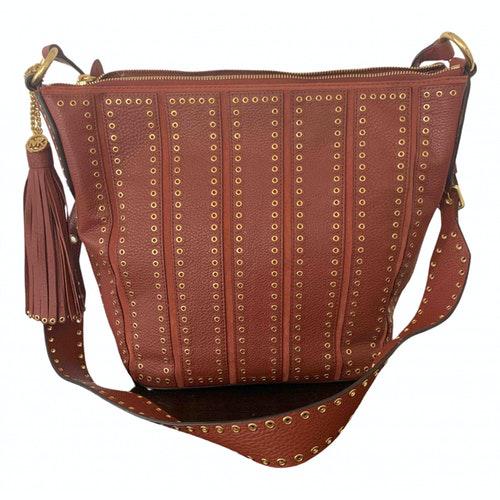 Michael Kors Brooklyn Brown Leather Handbag