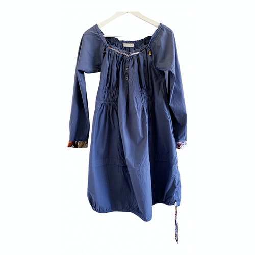 Wunderkind Blue Cotton Dress