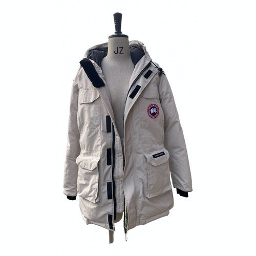 Canada Goose Expedition Beige Fox Jacket